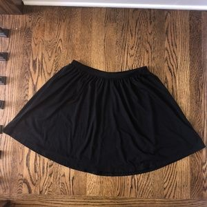 Old Navy Black Circle Skirt